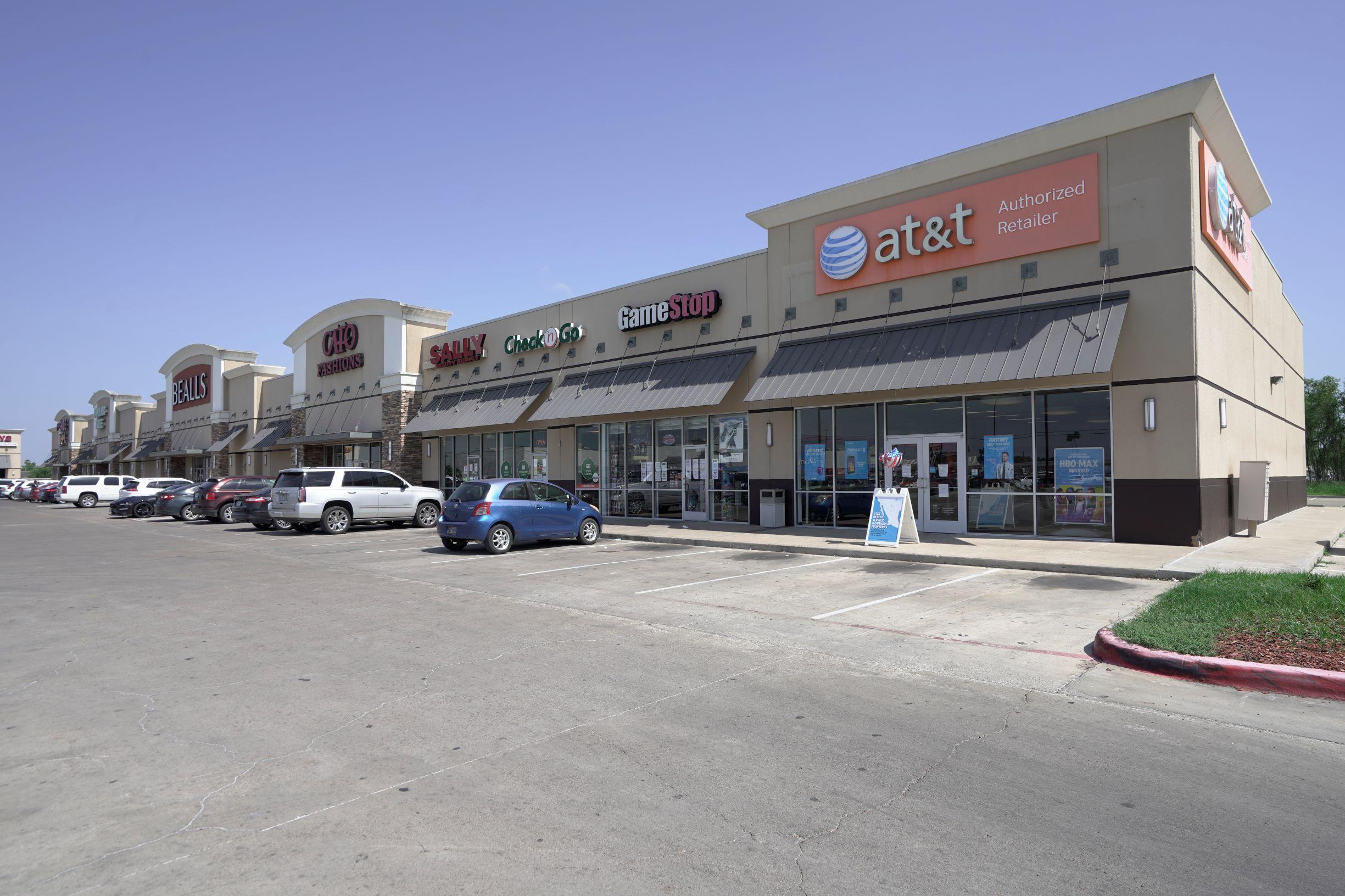 Walmart-anchored Strip