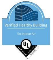 the UL Verified Healthy Buildings Mark in IAQ
